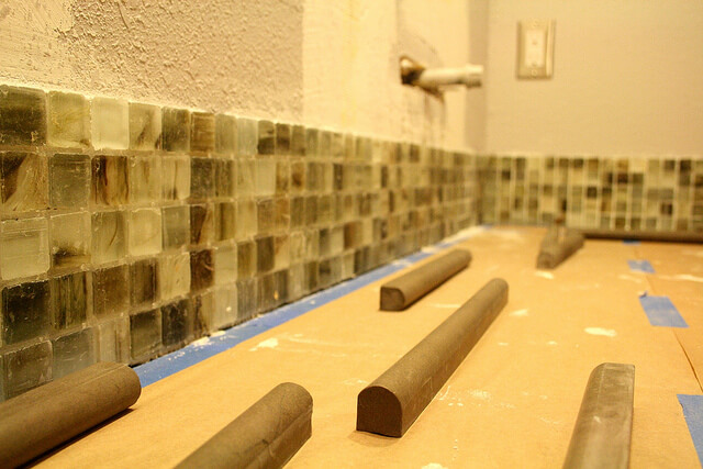 Backsplash Ideas Start To Finish In Under An Hour!