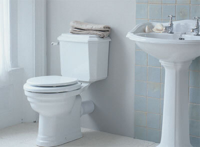How To Install A Toilet In Your Bathroom | Home Makeover Diva