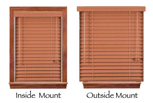 Window Mount Types