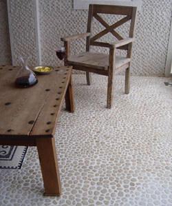 Pebble Stone Floor